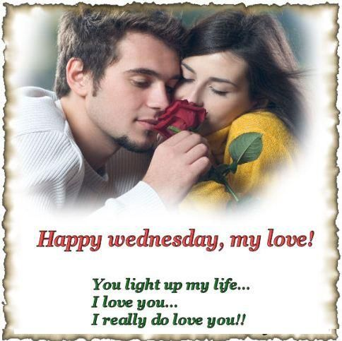Happy Wednesday My Love Desicommentscom