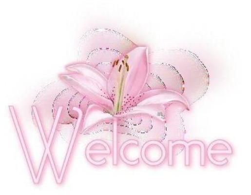 Beautiful welcome image