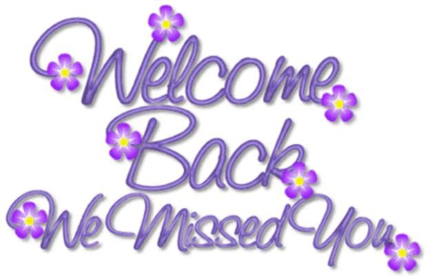 Image result for welcome back to you