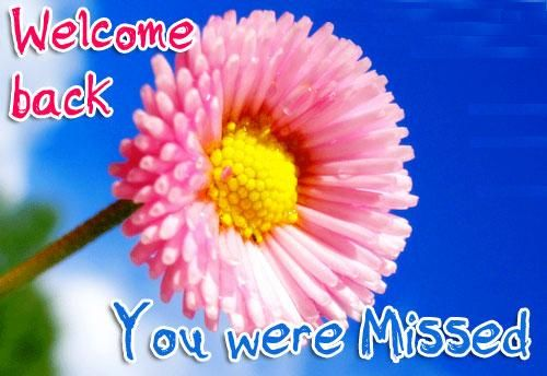 Welcome back you were missed - DesiComments.com