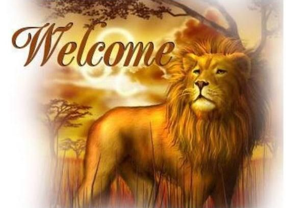 Welcome-lion - DesiComments.com