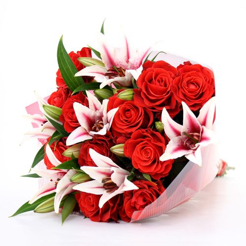 Roses Lilies