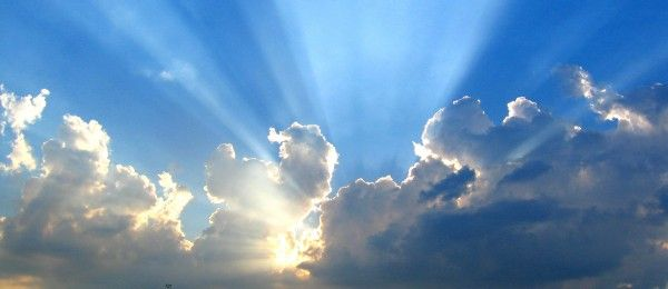 Sunlight from Clouds