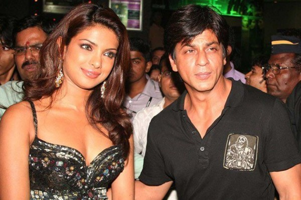 Actress Priyanka Chopra and Shahrukh Khan