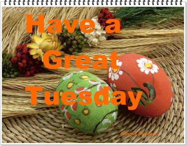 Have a great tuesday