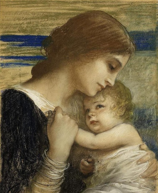 Painting Of Mother's Love