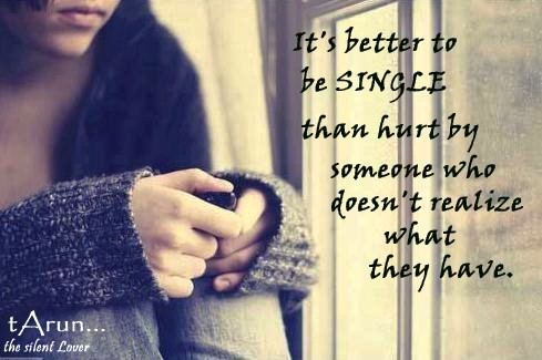 It's Better To Be Single