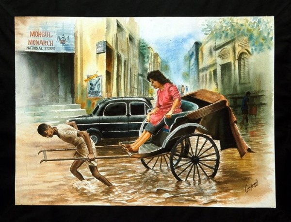 Painting Of A Poor Laborer