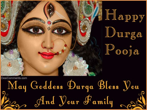 May Goddess Durga Bless You