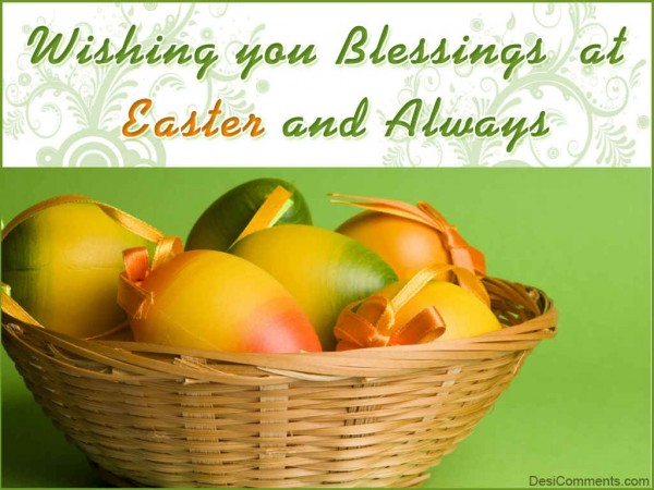 Wishing You Blessings At Easter
