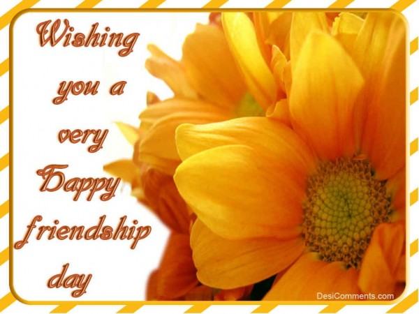 Wishing You A Very Happy Friendship Day