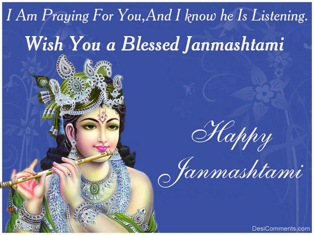 Best Lord Krishna Janmashtami DP for free download
