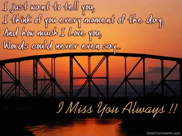I Miss You Always