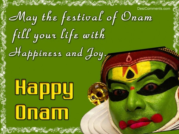 Onam Fill Your Life With Happiness And Joy