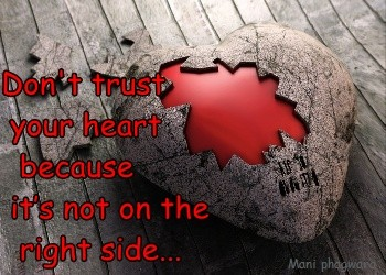 Dont Trust Your Heart