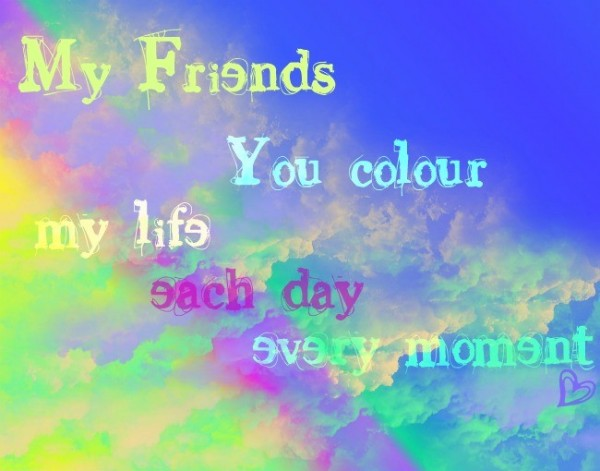 You Color My Life