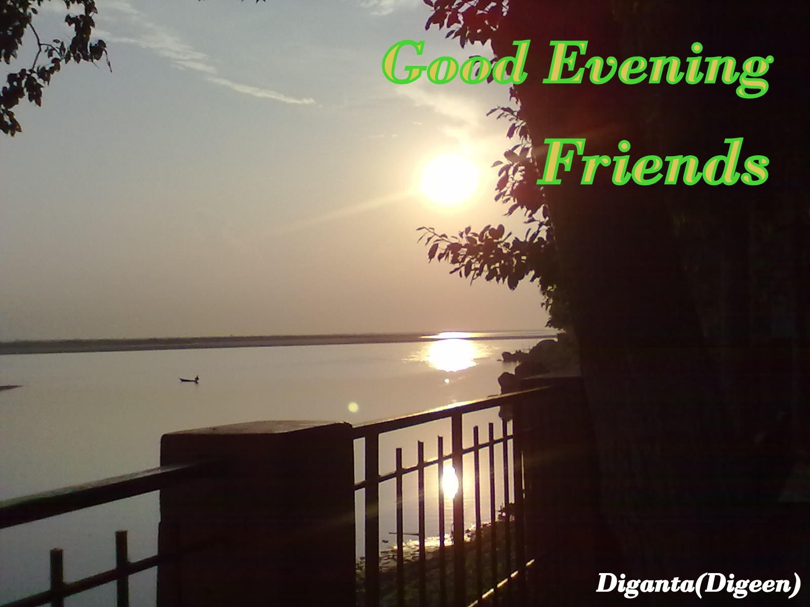 Good Evening Friends - DesiComments.com
