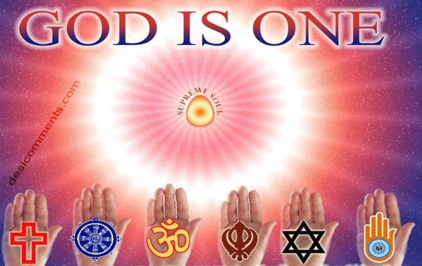 God is one