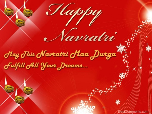 Wishing You Very Happy Navratri...