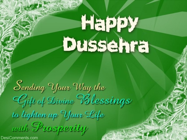 I Wish You Happy Dussehra...