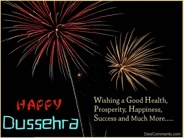 Wishing You Very Happy Dussehra...