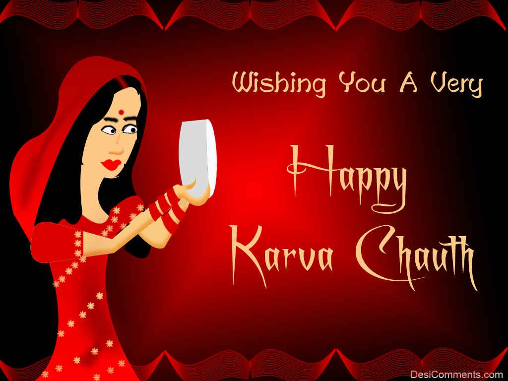 Wishing You A Very Happy Karva Chauth Desicomments Com