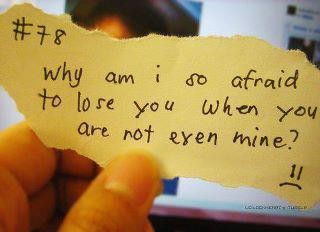 Why I Am So Afraid