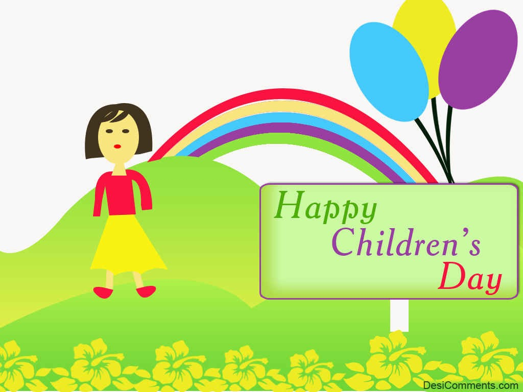 the history of children's day in World children's day is a day for children, by children, all over the world to help save children's lives, fight for their rights and help them fulfil their potential.