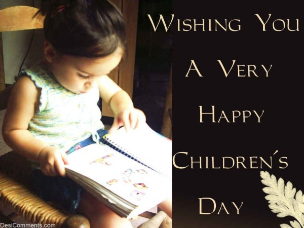 Wishing You A Very Happy Children's Day
