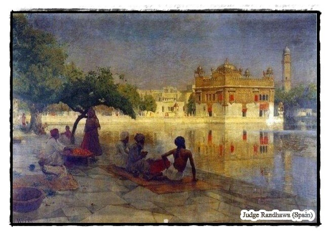 Old Pic Of Shri Harmandir Sahib - DesiComments.com