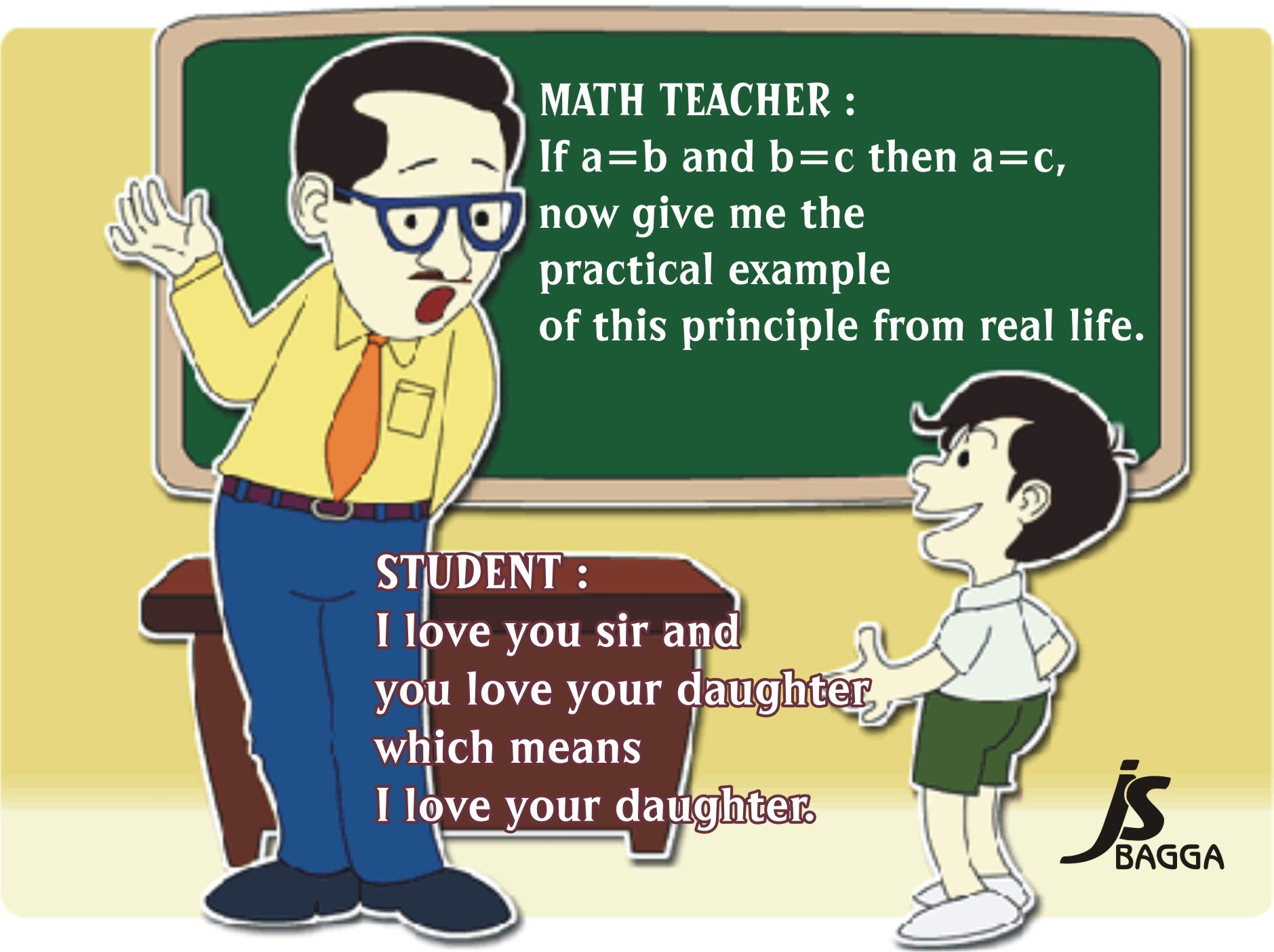 Teacher and student...?