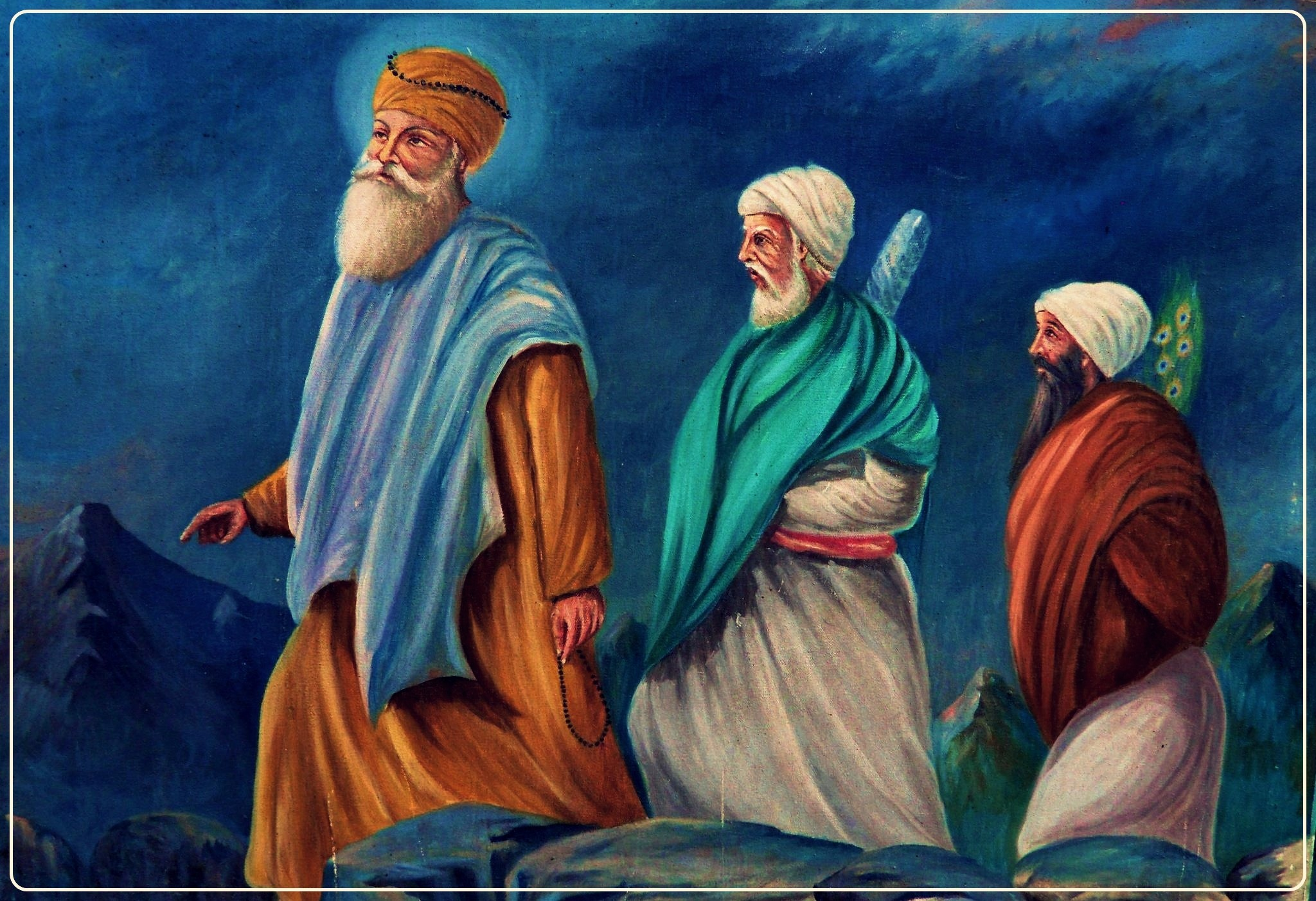 Original pictures of sikh gurus