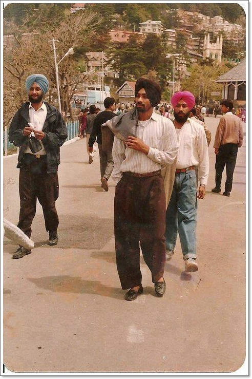 An Old Pic Of Babbu Maan