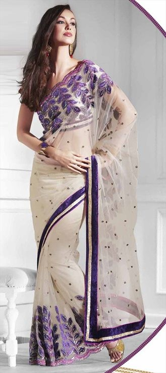 In Saree