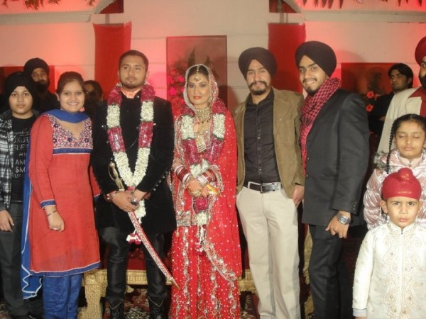 Honey Singh's Wedding Photo