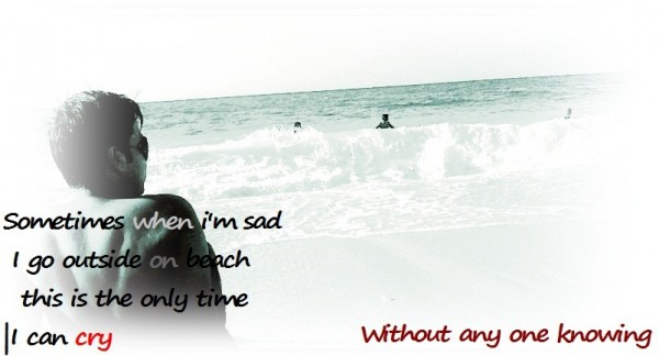 When I Am Alone….