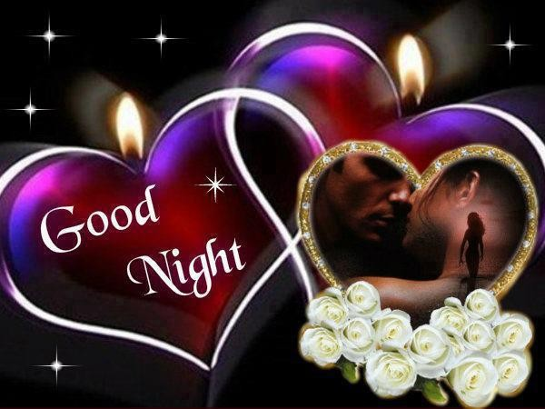 Good Night Sms With Love Wallpaper : Good Night - Desicomments.com