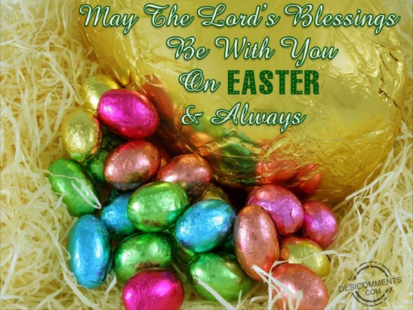 May The Lord's Blessings Be With You