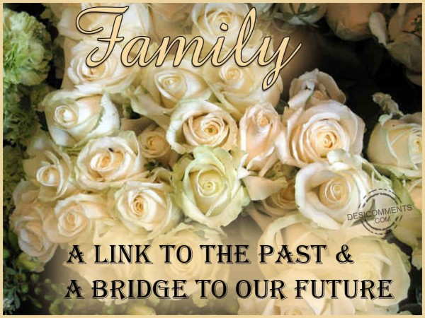 Family Is A Link To The Past