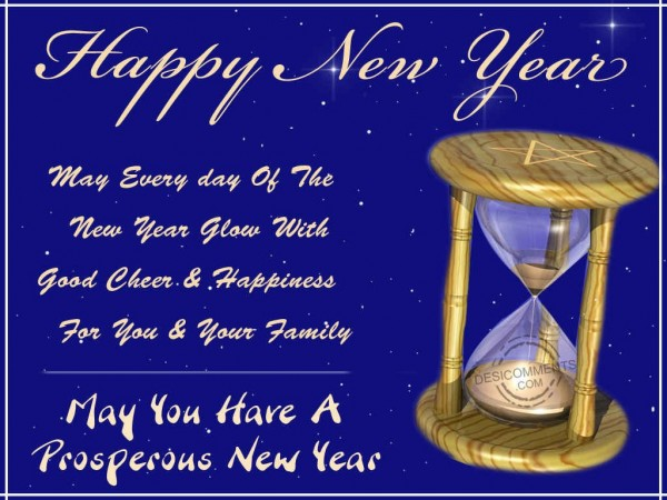 May You Have A Prosperous New Year