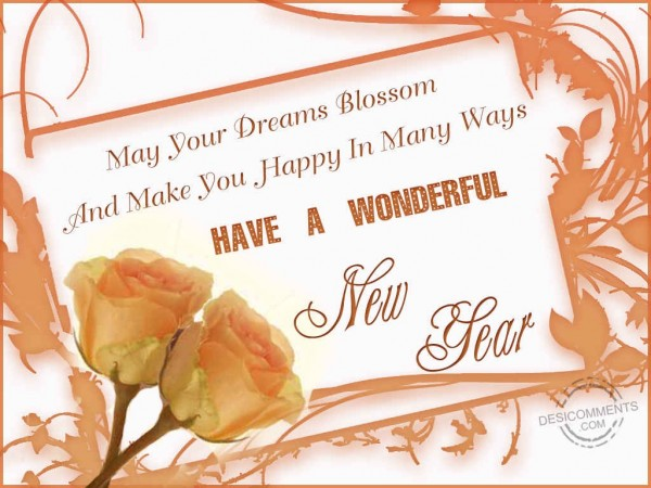 Have A Wonderful New Year
