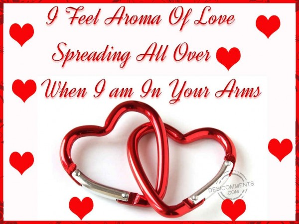 I Feel Aroma Of Love When I Am In Your Arms