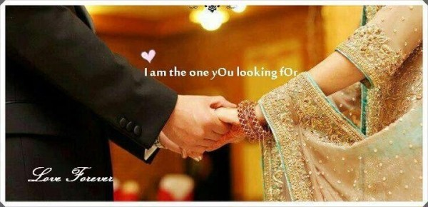 I Am The One You Looking For....