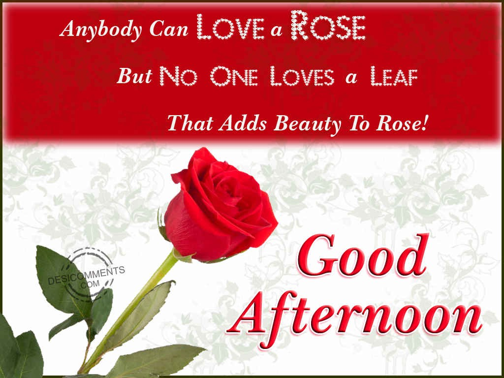 Good Afternoon - DesiComments.com