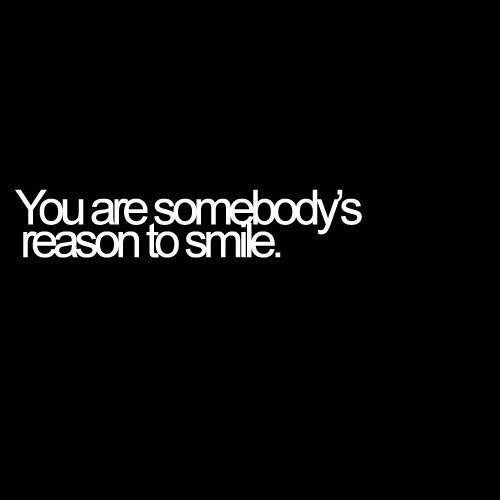 Reason To Smile....