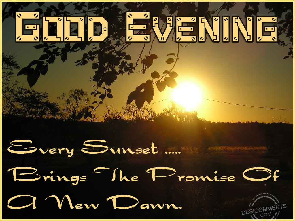 Good Evening - DesiComments.com