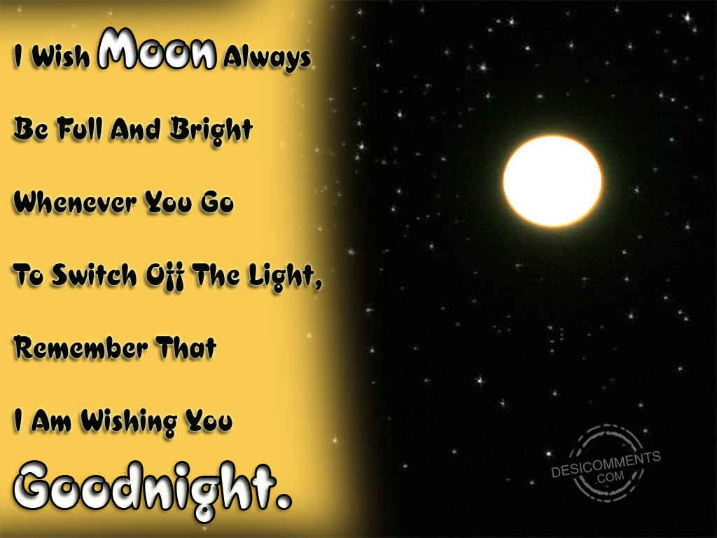 Wishing You A Good Night - DesiComments.com