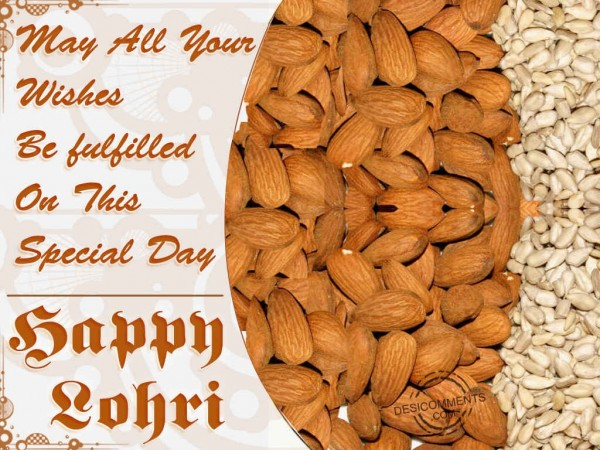 May All Your Wishes Be Fulfilled On Lohri