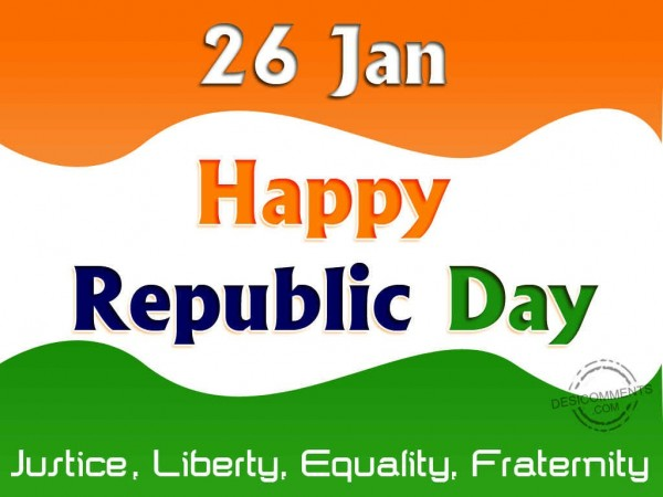 26 January,Happy Republic Day