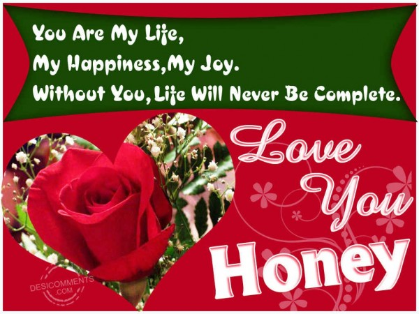 I Love You Honey Quotes : This picture was submitted by gagandeep kaur.